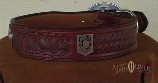 Custom Made Atticus's Collar