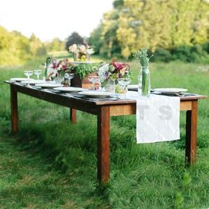 Custom Made Handmade Farm Table - Color Options