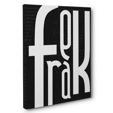 Custom Made Freak Canvas Wall Art