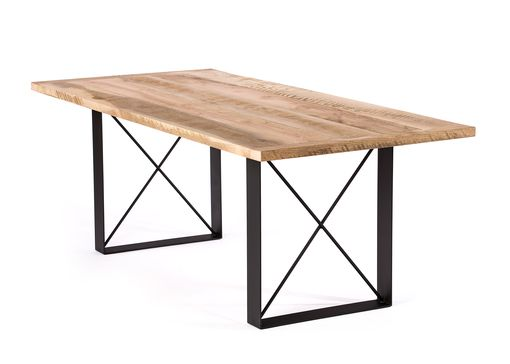 Custom Made The Soho Reclaimed Wood Dining Table