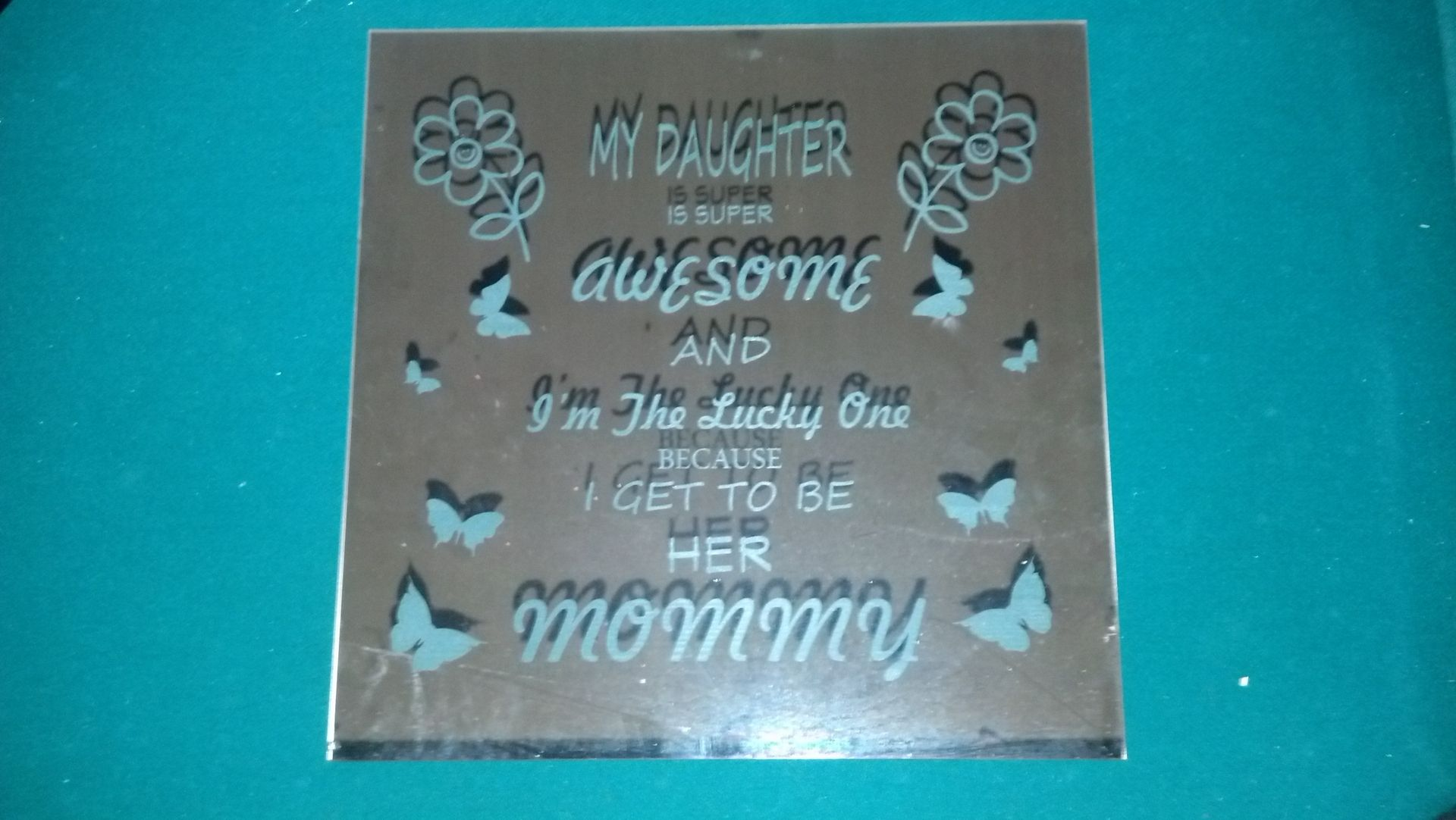 Hand Crafted Laser Engraved Mirror By Drew S Up North