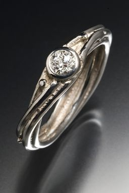 Custom Made Unique Engagement Ring