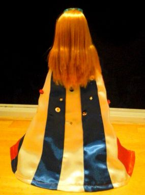 Custom Made Wonder Woman Cape Doll Clothes