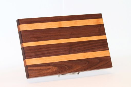 Custom Made Handmade Walnut And Cherry Cutting Board, Custom Sizing