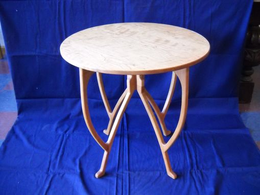 Custom Made Small Round Table