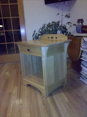 Custom Made Mission Bedside Table
