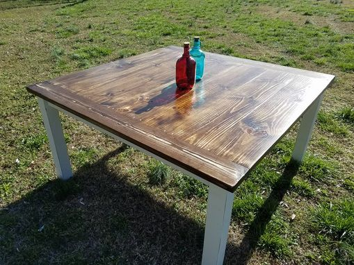 Custom Made Square Colonial Style Table