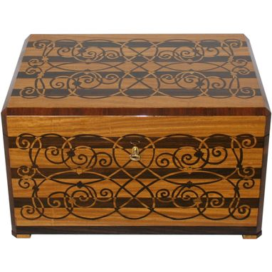 Custom Made Beautiful Custom Jewelry Box
