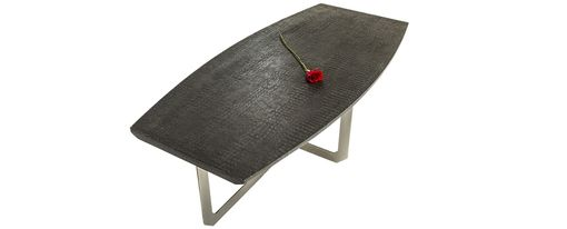 Custom Made Concrete Coffee Table  Ally