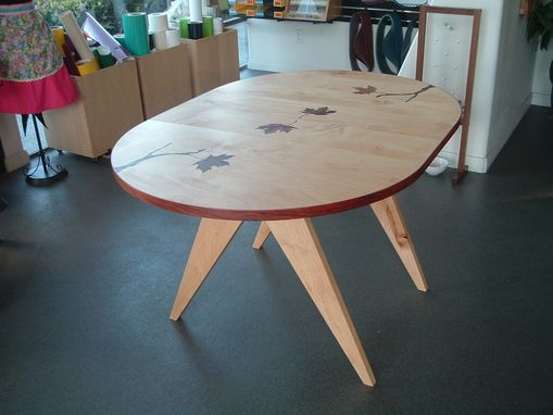"Custom Made ""Mapleleafs"" Dining Table"