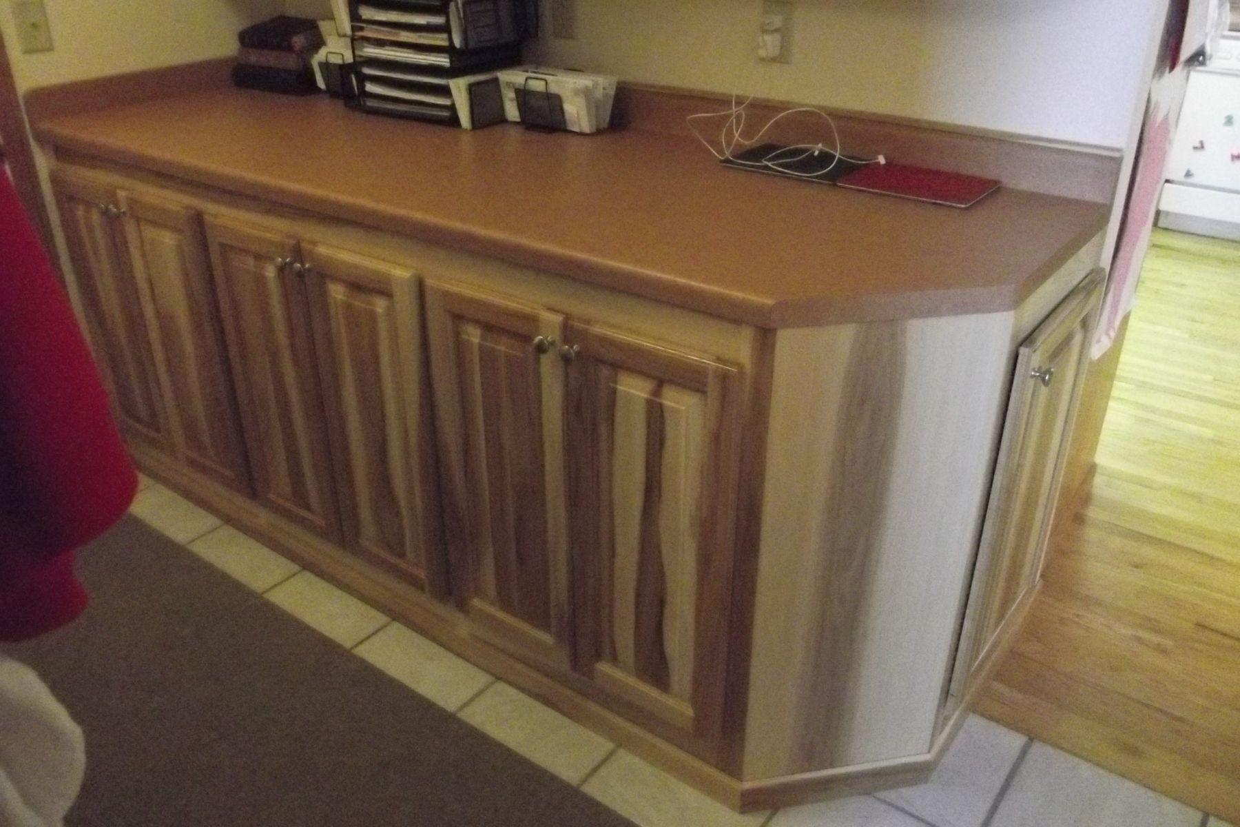 Custom Made Hickory Cabinets