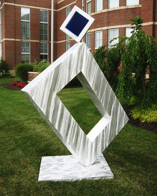 Custom Made Large Outdoor Aluminum Abstract Sculpture