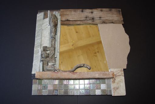 Custom Made Completed Upcycled, Recycled Mirrors
