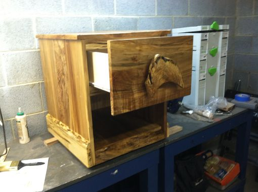 Custom Made Wormy Maple Night Stand