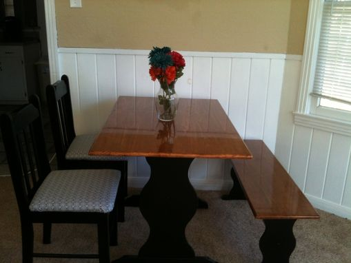 Custom Made Custom Repurposed Dining Table