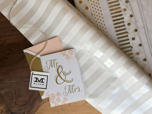 Custom Made White Glove Presentation. We'll Wrap Your Gift For The Special Occasion.