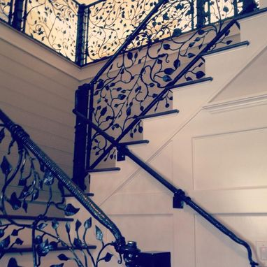Custom Made Staircase Railing