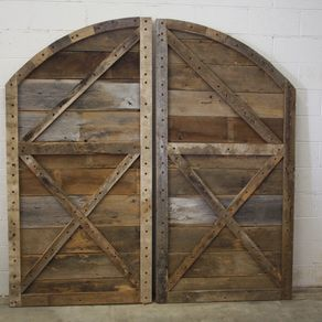 Hand Made Interior Barn Door Hardware Flat Track