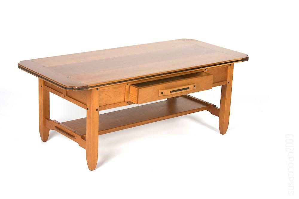 Custom Made Greene And Greene Coffee Table