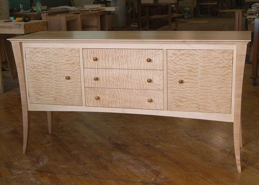 Custom Made Maple Sideboard