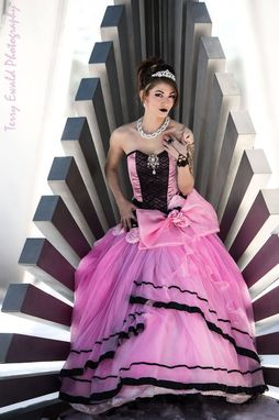 Custom Made Pink Princess Gown