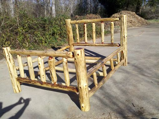 Custom Made Red Cedar Bed - Queen Size
