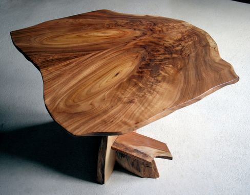Custom Made Butternut Side Table