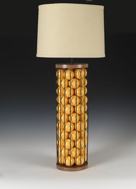 Custom Made La Cage Table Lamp