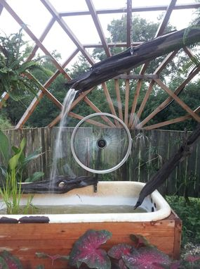 Custom Made Water Wheel Fountain