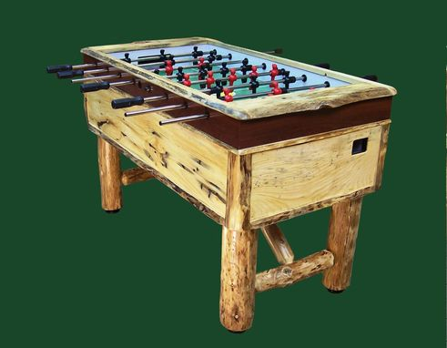Custom Made Rustic Foosball