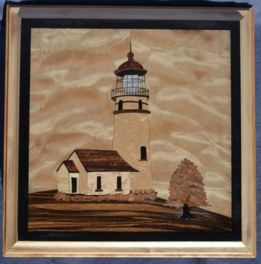 Custom Made Cape Blanco Lighthouse Jewelry Box