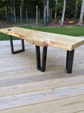 Custom Made Rustic Modern Coffee Table