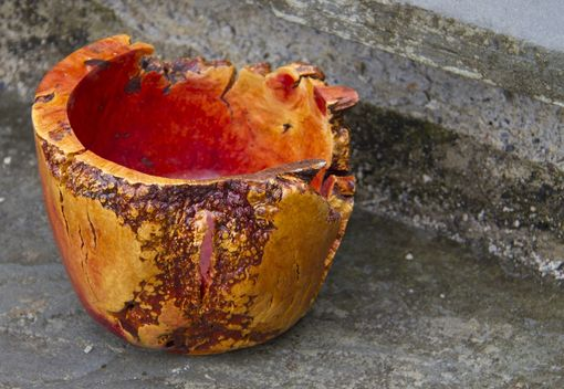 Custom Made Live Edge Manzanita Forms - Bowls, Vases, And Vessels