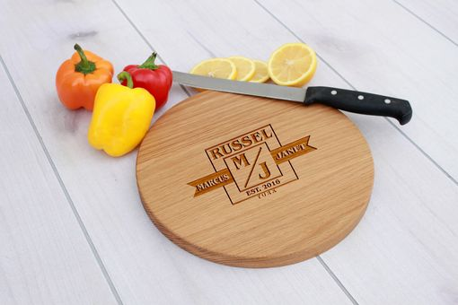 Custom Made Personalized Cutting Board, Engraved Cutting Board, Custom Wedding Gift – Cbr-Wo-Marcus&Janet