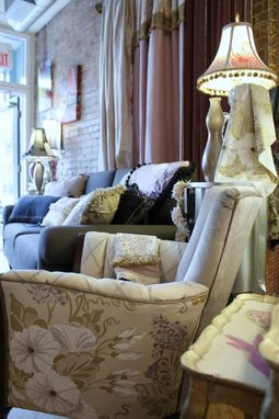 Custom Made Upholstered Vintage Chairs And Victorian Settee, Accessories Inspired By European Trends