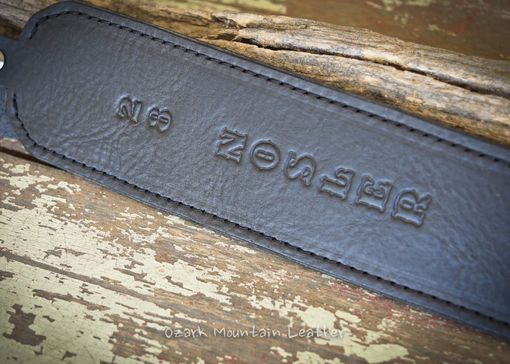 Custom Made Custom Rifle/Gun Sling With Names And Numbers.