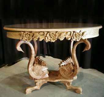 Custom Made Swan Table