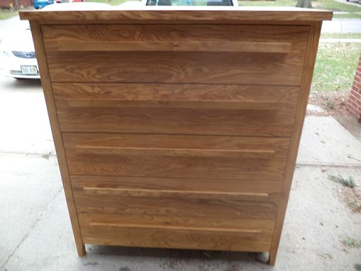 Custom Made Man Size Chest Of Drawers
