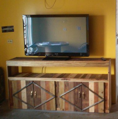 Custom Made Entertainment Stand
