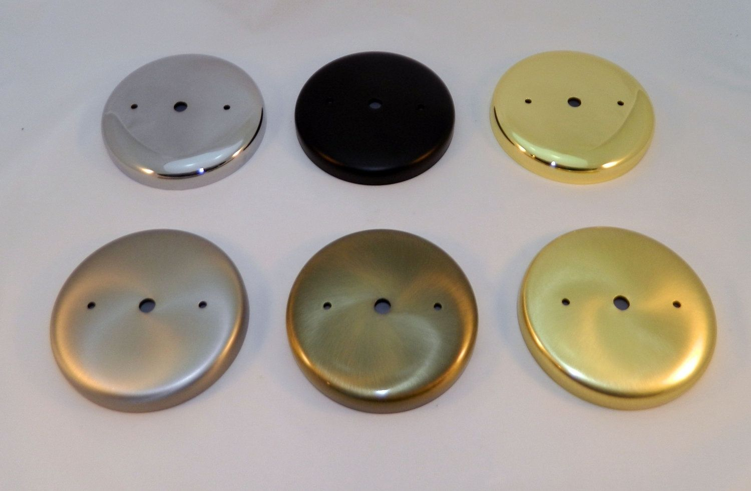 Hand Made Ceiling Light Mount Canopy Kit Plain Round By