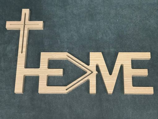 Custom Made He Is Greater Than Me Decor