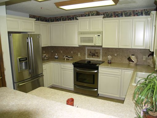 Custom Made White Maple Kitchen