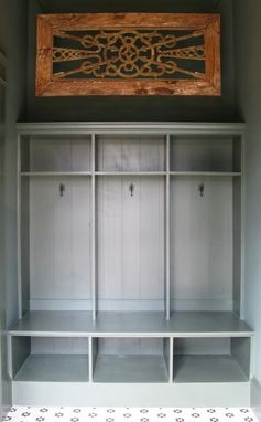 Custom Made Custom Mudroom Cubbies