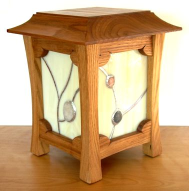 Custom Made Recycled Chestnut Table Lantern