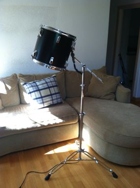 Custom Made Repurposed Tom Tom Drum Floor Lamp