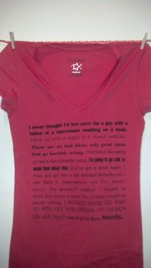 Custom Made Sale 30 Rock Inspired Favorite Quotes Shirt, You Pick Size And Color, Made To Order