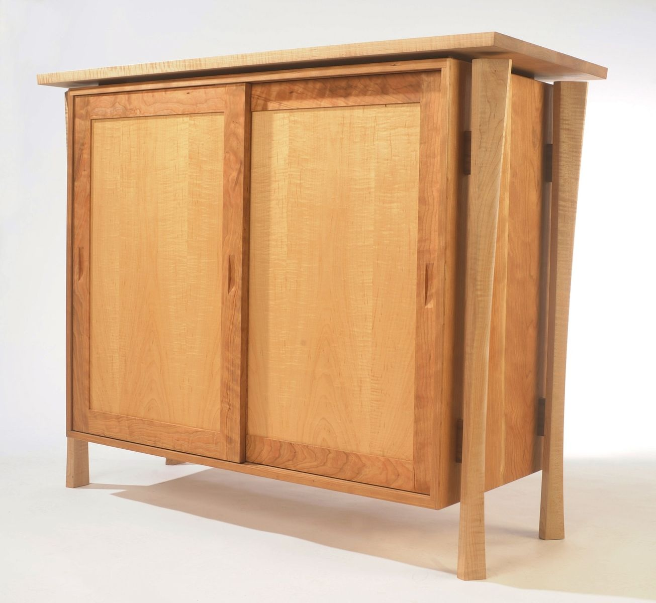 Custom Japanese Getabako (Shoe Cabinet) By B.Holland&Co