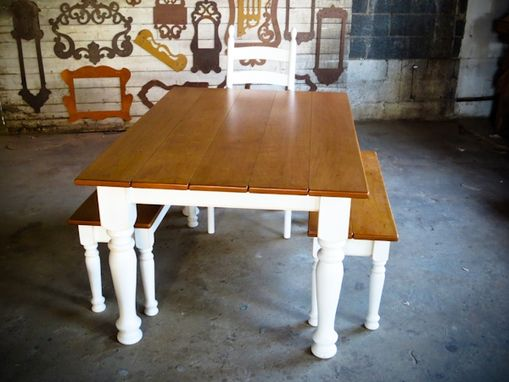 Custom Made Cherry Dining Table With Extensions