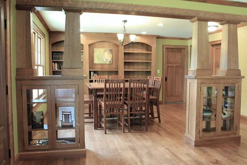 Custom Made Craftsman Dining Room