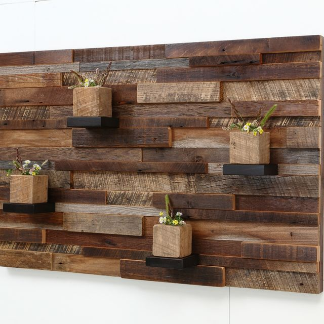 Hand Crafted Reclaimed Wood Wall Art Made Of Old Barnwood. by ...